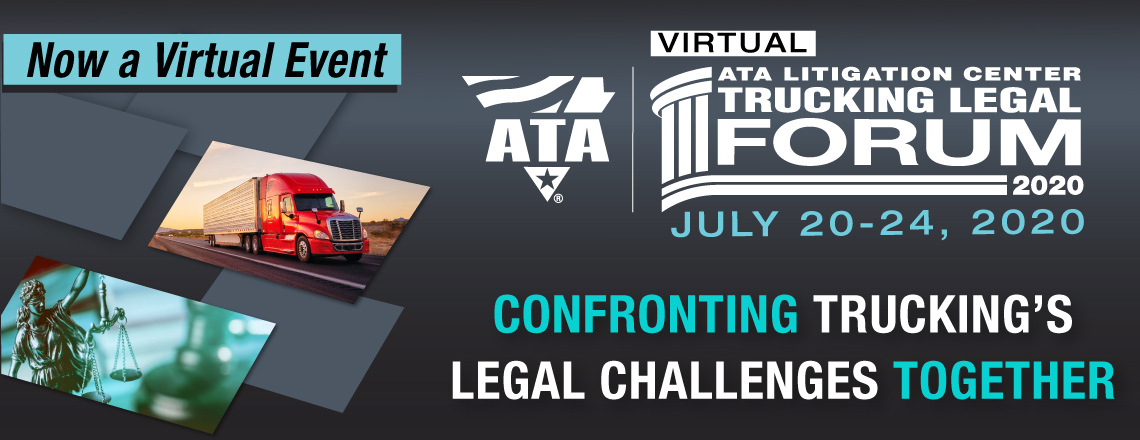 2020 Trucking Legal Forum